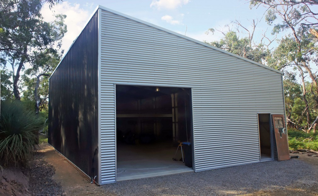 Skillion lean to sheds garages by shed boss fleurieu for Modern shed prices